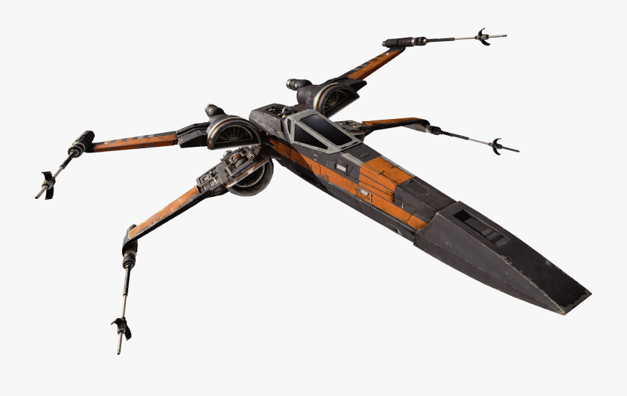 Star Wars The Force Awakens Png - T 70 X Wing, Transparent Clipart