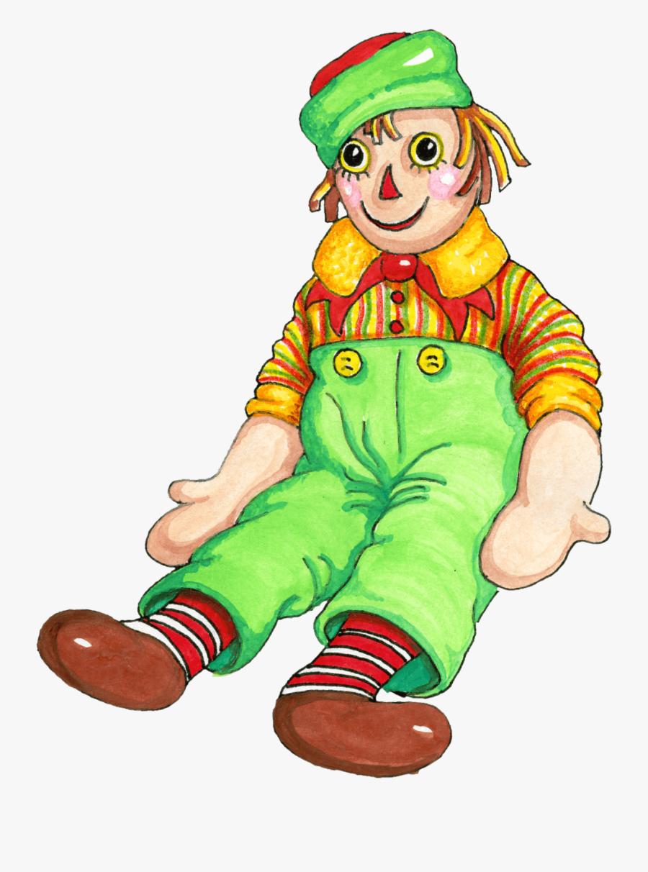Rag Doll Clipart - Rag Doll Clip Art, Transparent Clipart