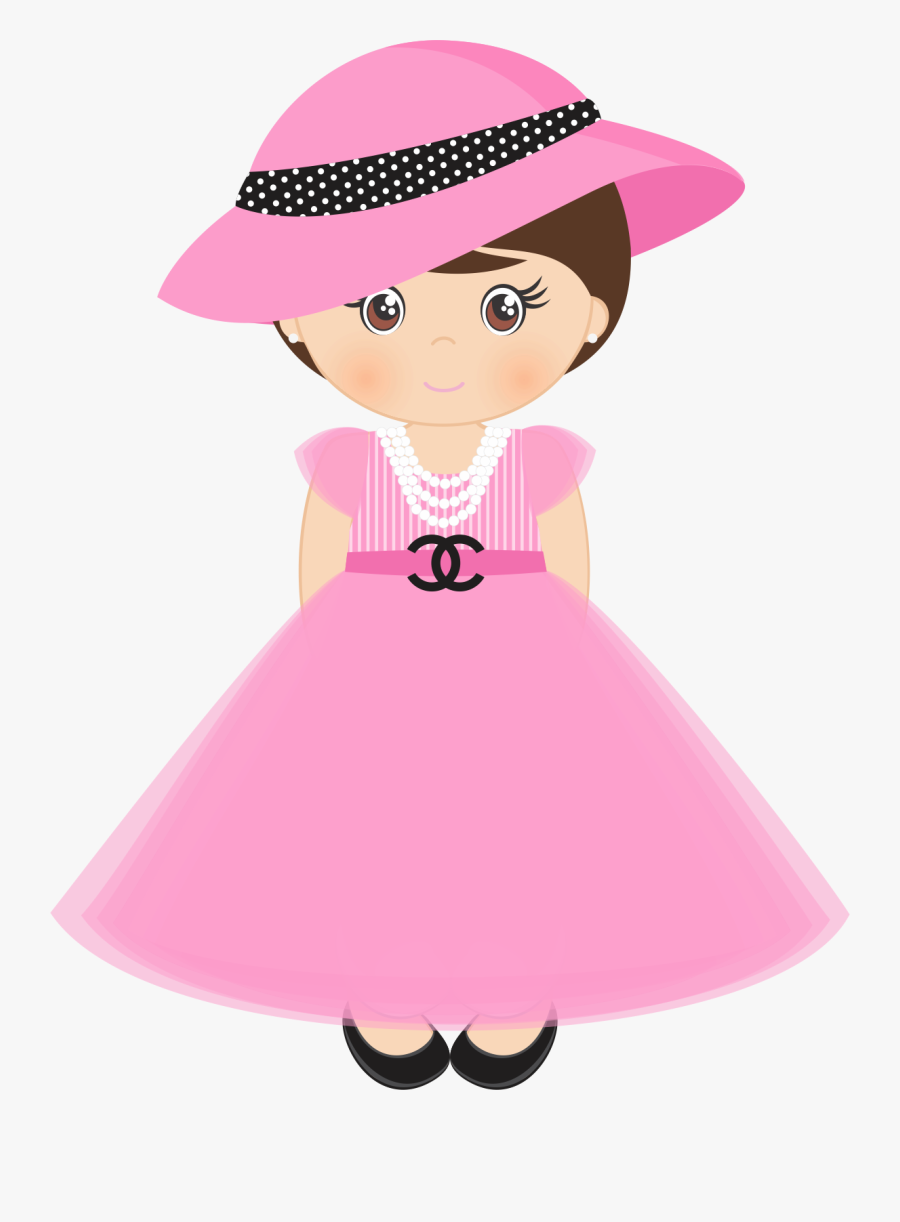 Transparent Girly Cliparts - Cartoons Dolls For Class Decorations, Transparent Clipart