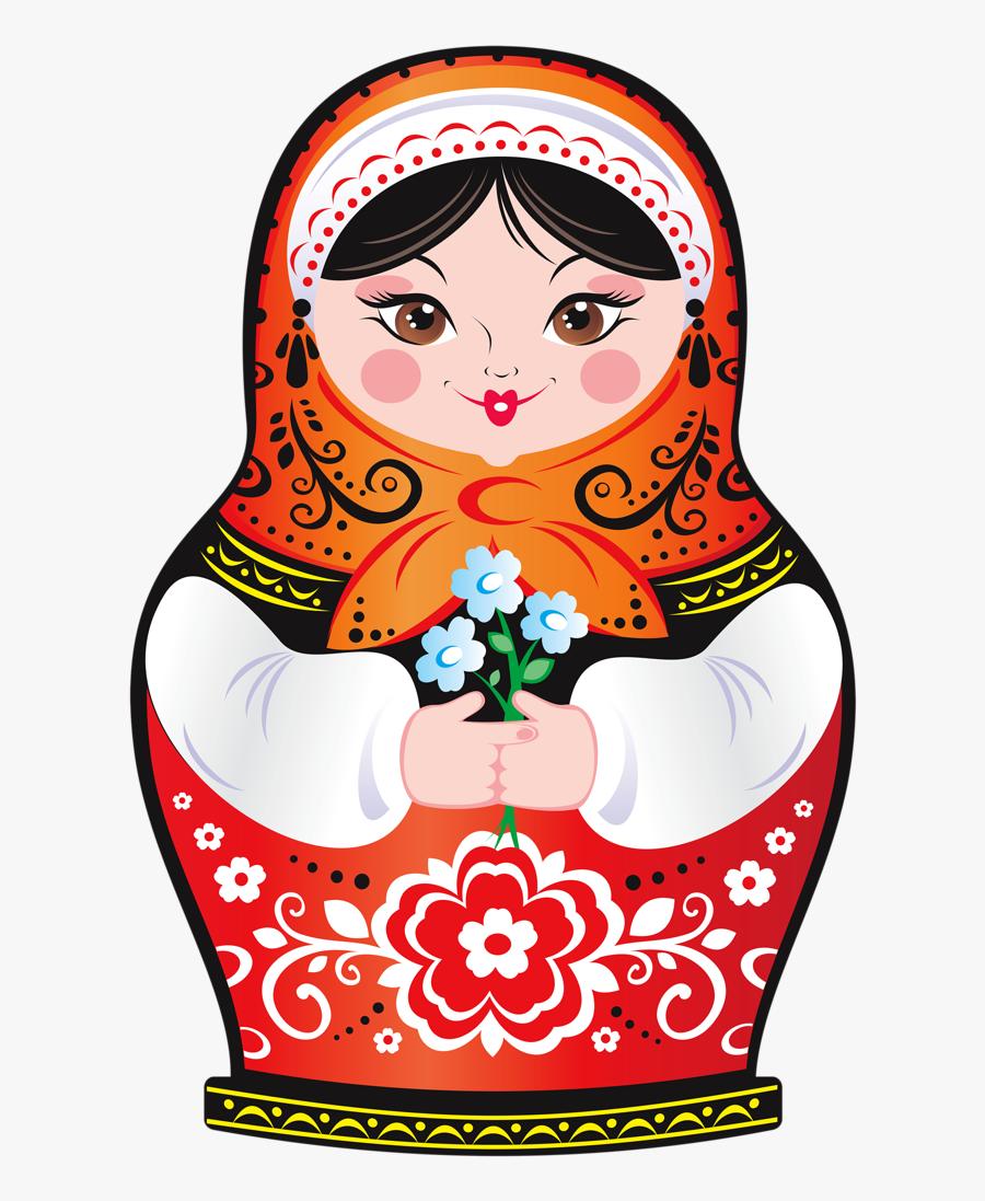Russian Nesting Dolls Clipart - Russian Nesting Doll Clipart, Transparent Clipart