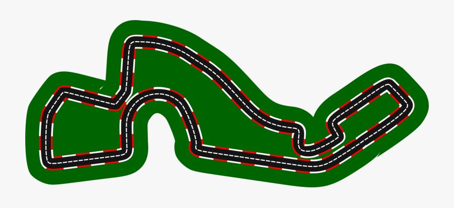 Sochi Autodrom Russian Grand Prix Race Track Auto Racing - Auto Racing Car Race Track Clipart, Transparent Clipart