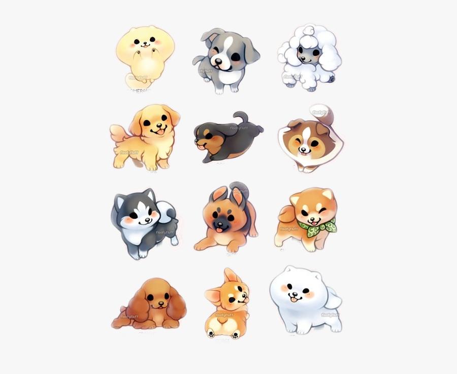 Draw A Cute Golden Retriever Kawaii Cute Puppy Drawing Free Transparent Clipart Clipartkey