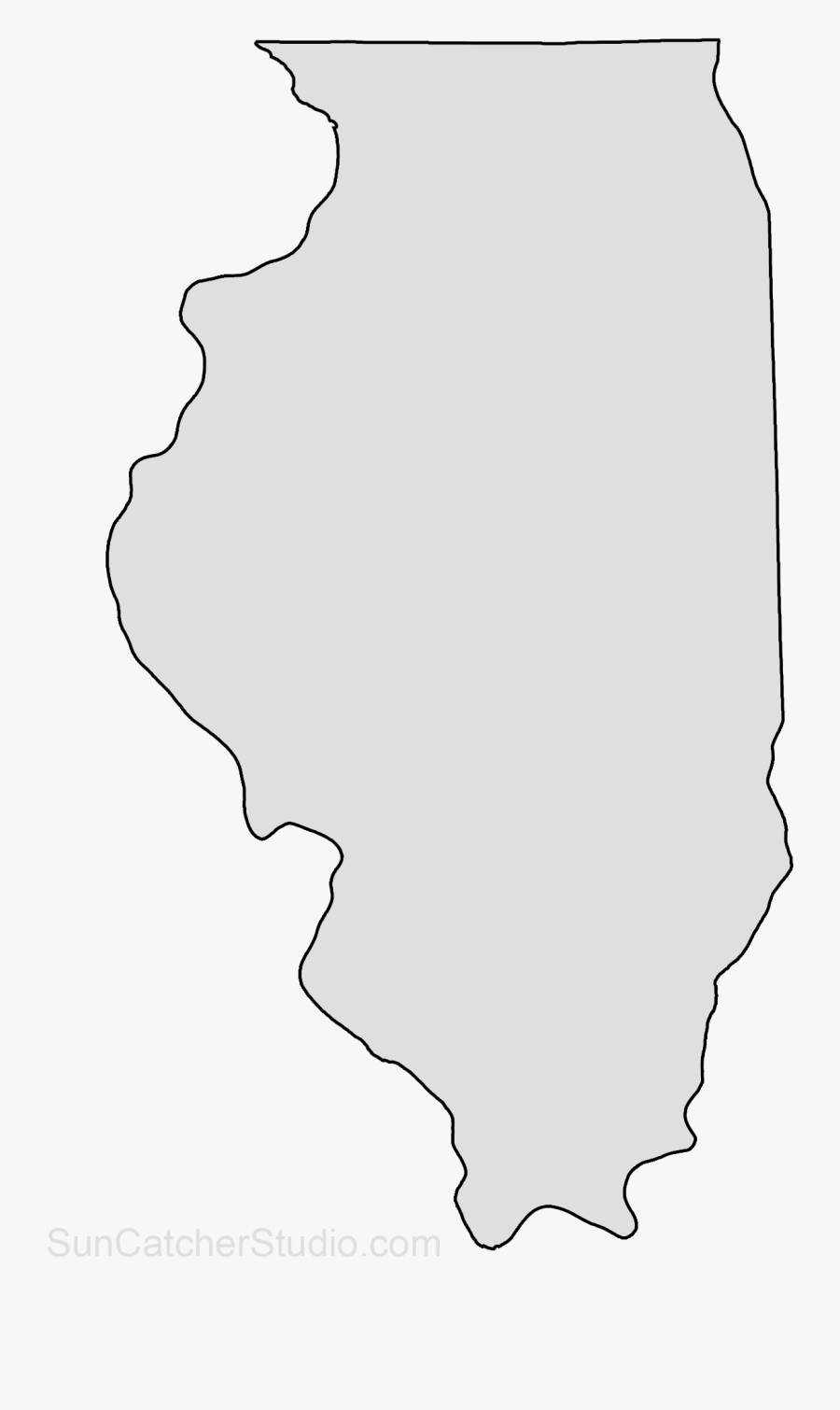 Picture of: Transparent Illinois Outline Png Illinois County Map Vector Free Transparent Clipart Clipartkey
