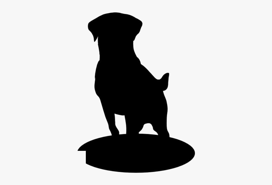 Colorful Labrador Retriever Png Clipart - Silhouette Of A Dog Sitting, Transparent Clipart