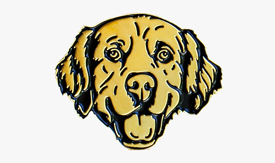 Image Of Golden Retriever Lapel - Golden Retriever Svg, Transparent Clipart