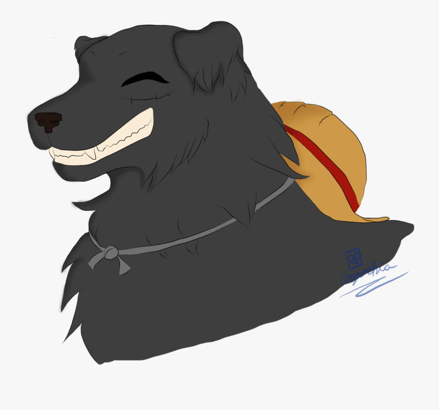 Black Lab/golden Retriever Luffy and That's Two Down - Companion Dog, Transparent Clipart