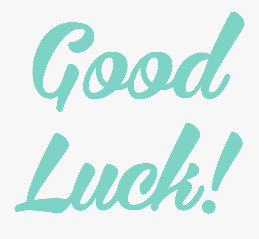 Good Luck Transparent, Transparent Clipart