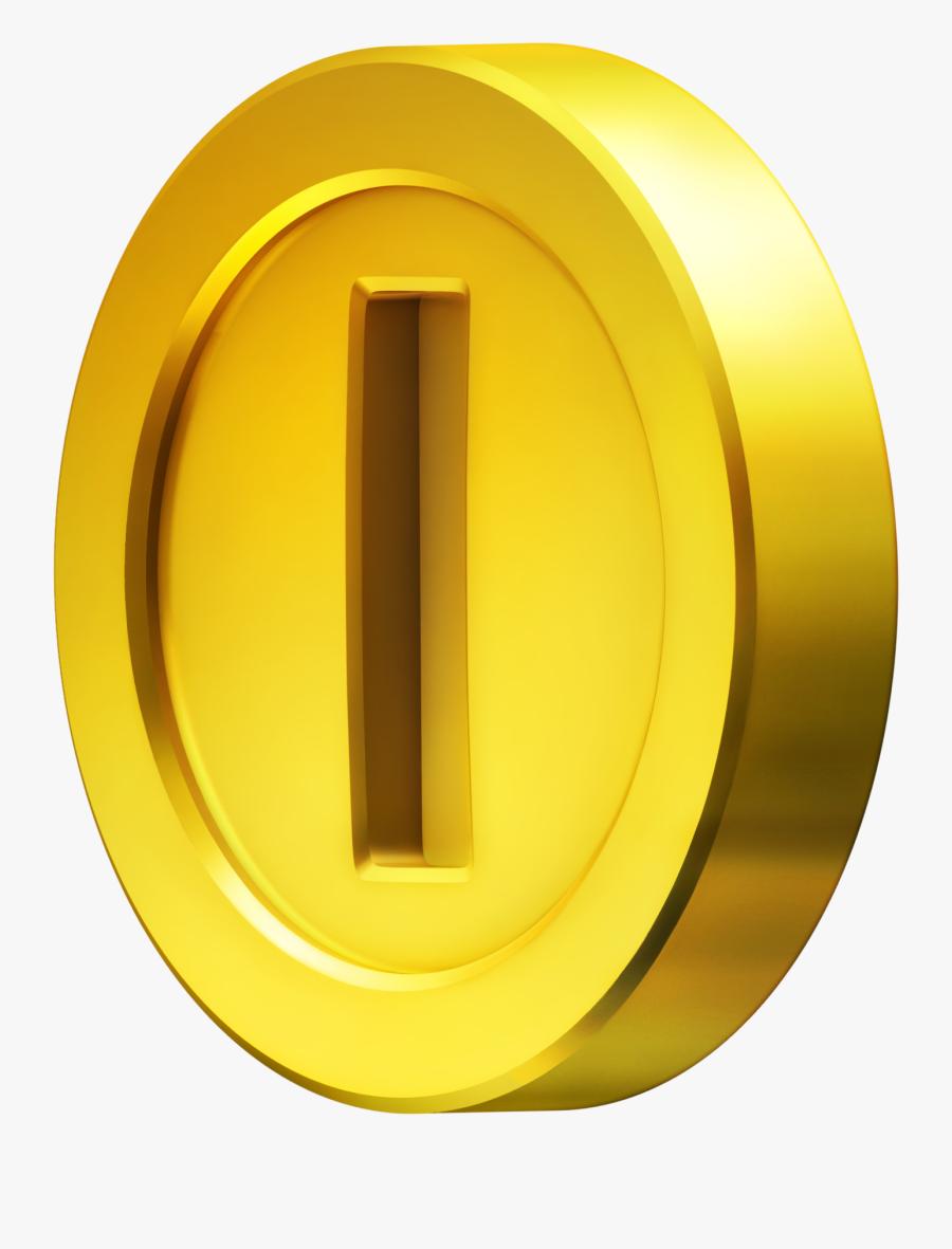 Mario Coin Transparent Background, Transparent Clipart