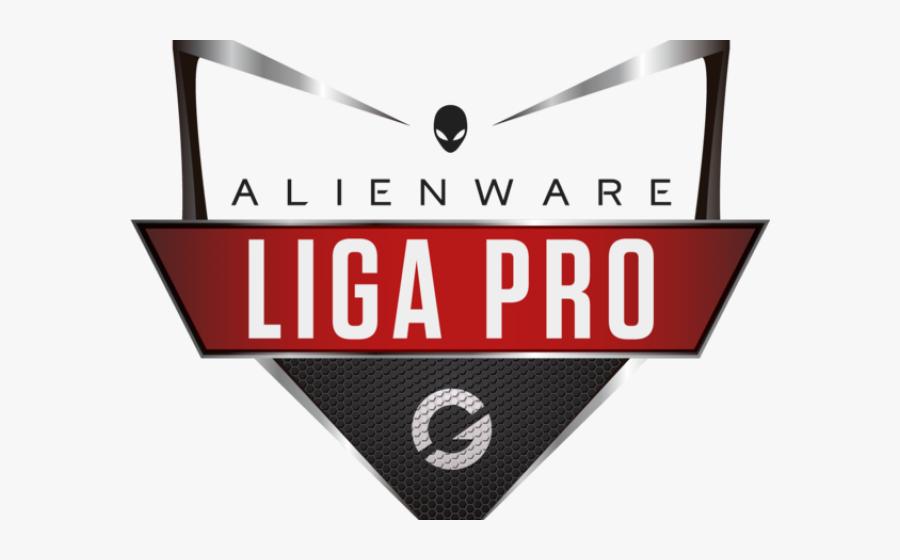 Alienware Clipart Gaming - Alienware Liga Pro Gamers Club, Transparent Clipart