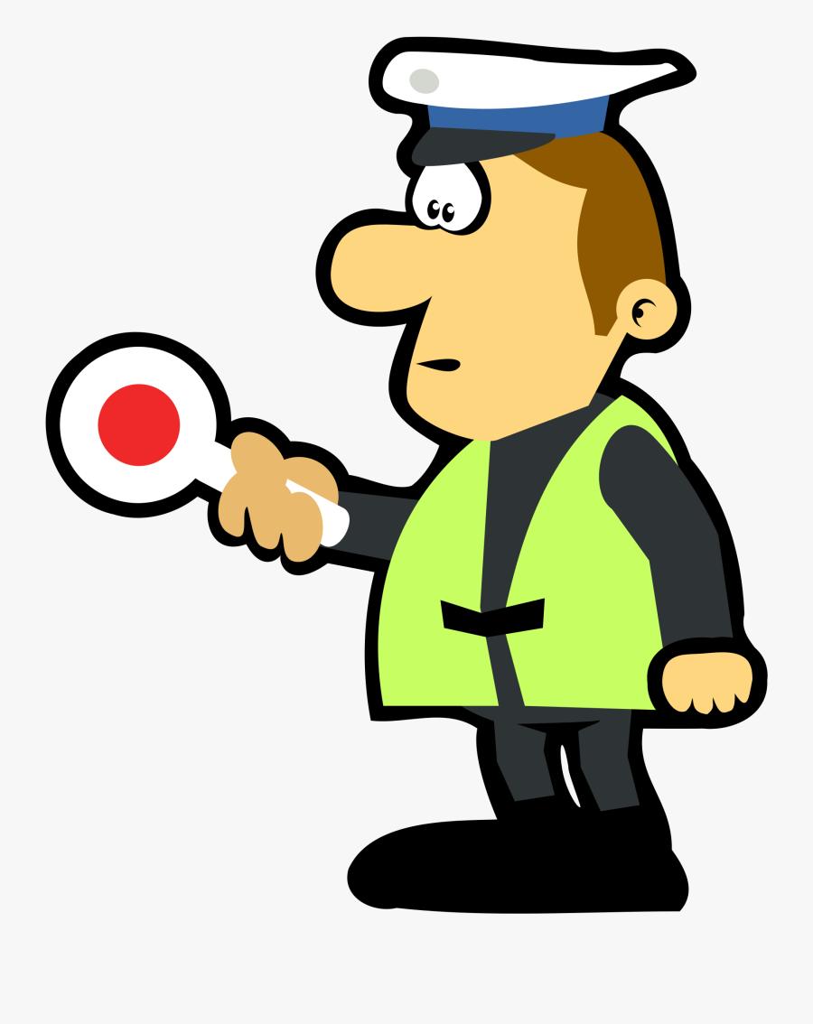Tools Clipart Policeman - Policjant Rysunek, Transparent Clipart