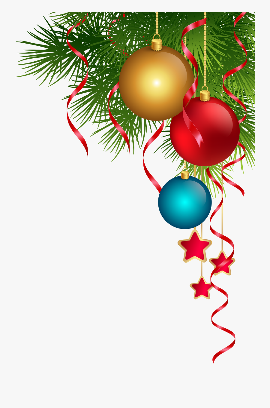 Christmas Clipart Png - Transparent Christmas Decorations Png, Transparent Clipart