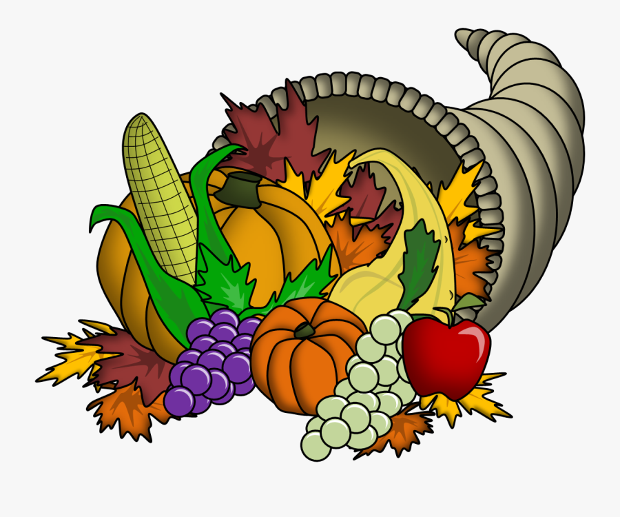 Thanksgiving Cornucopia Clipart, Transparent Clipart