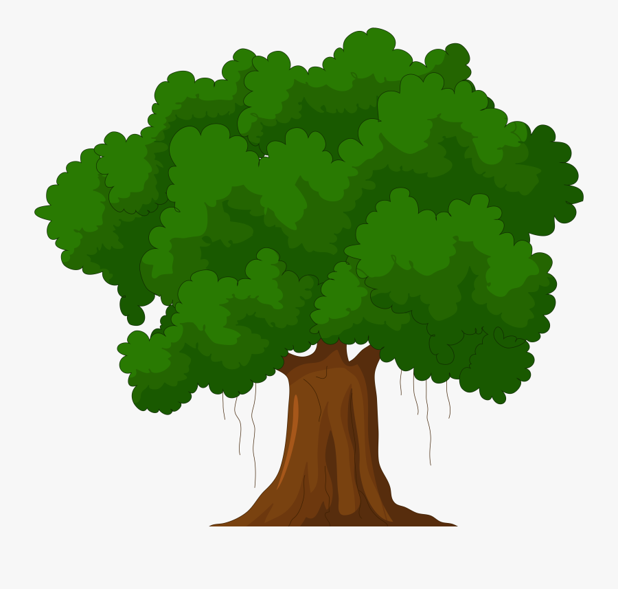Cartoon Green Tree Png Clipart - Family Tree Clipart, Transparent Clipart
