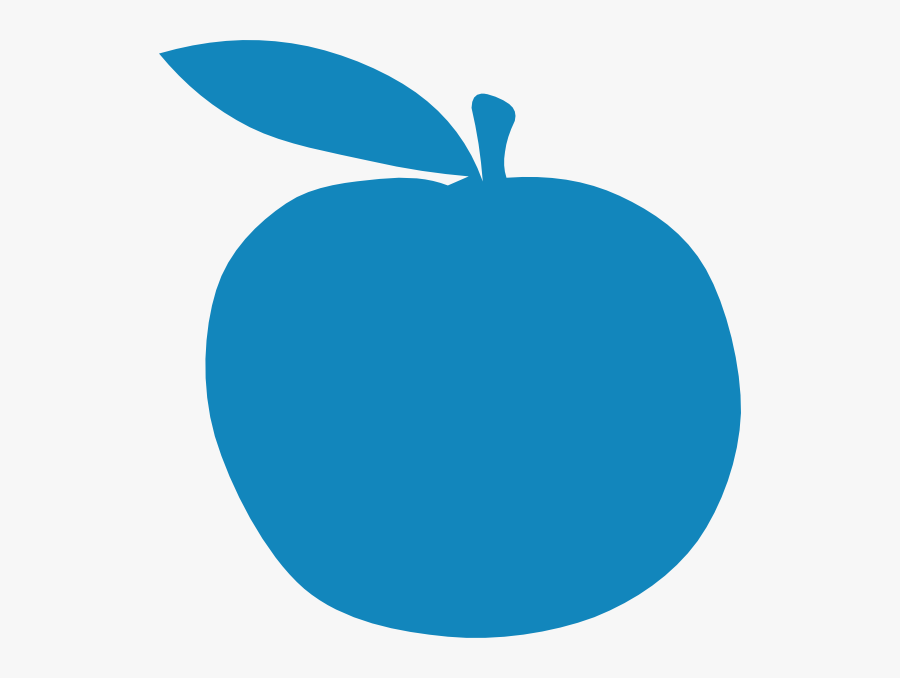 Apple Clip Art At - Blue Apple Clipart, Transparent Clipart