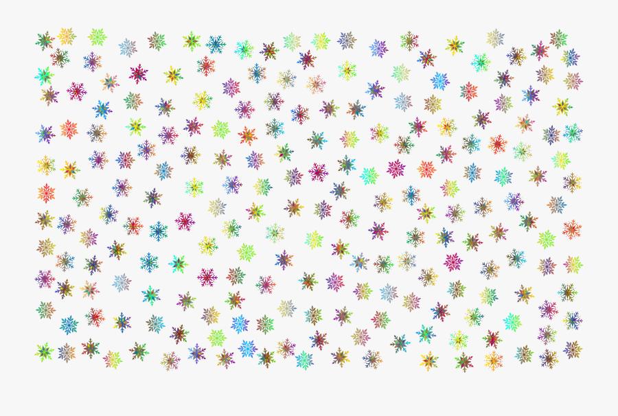 Transparent Christmas Snowflakes Clipart - Black And White Snowflake Pattern, Transparent Clipart