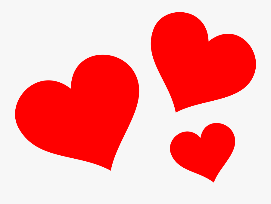 Transparent Free Heart Clipart Red Hearts Png Free Transparent Clipart Clipartkey