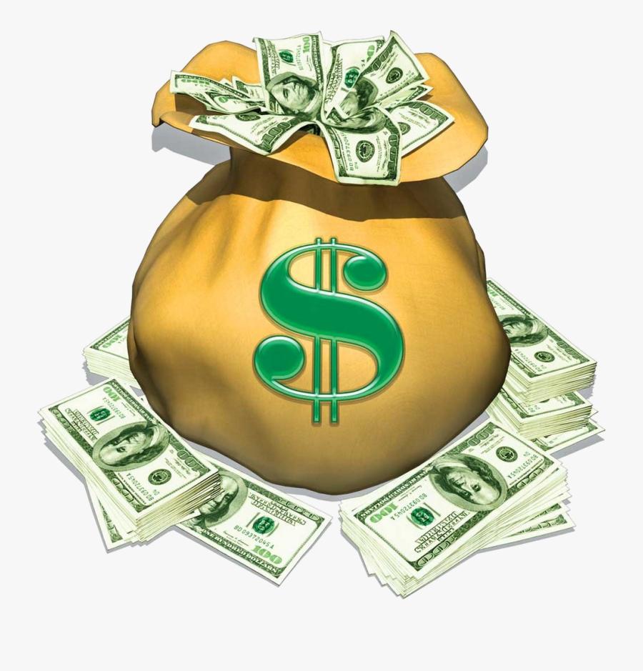 Cash Clipart Money Bag Swag Clip Art Guru Transparent ...