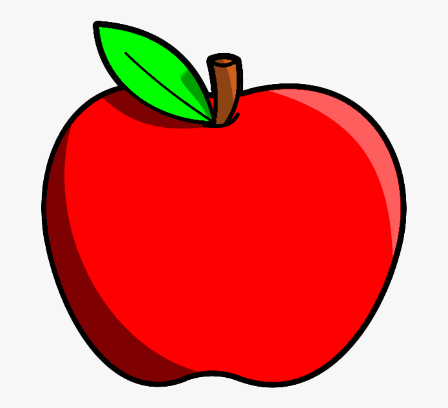 Red Apple Fruits Png Transparent Images Clipart Icons - Apple Fruit Clipart, Transparent Clipart