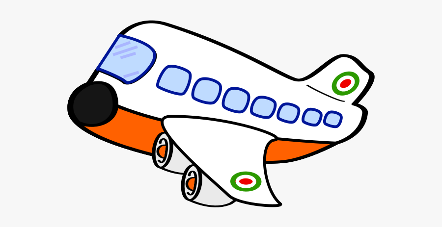 Free Clip Art Airplane - Airplane Cliparts Black And White, Transparent Clipart