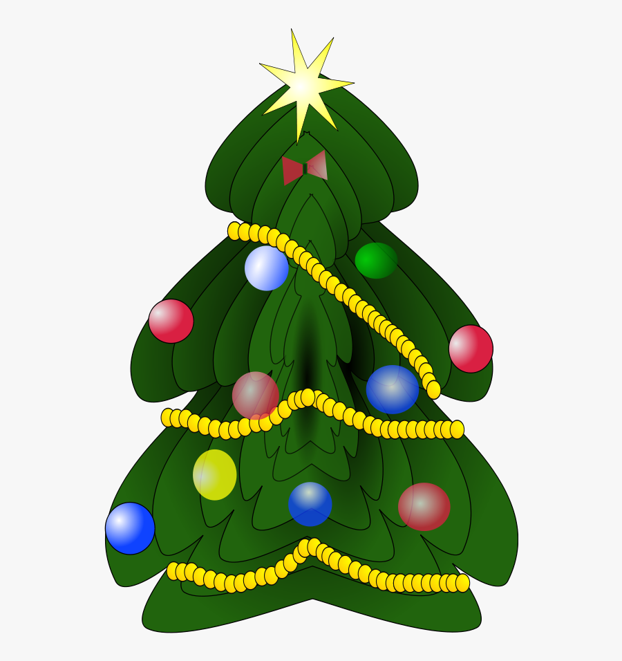 Christmas Tree Clipart - Free Christmas Tree Clipart, Transparent Clipart