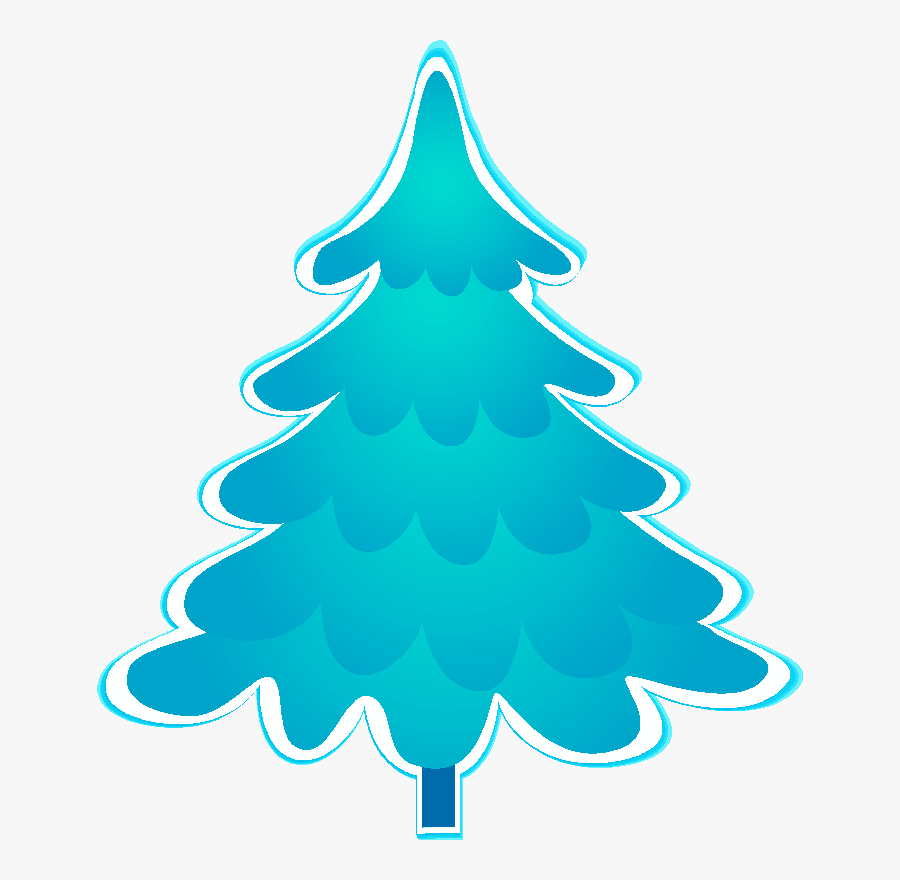 Blue Christmas Tree Clipart Images, Blue Christmas, - Blue Christmas Tree Clipart, Transparent Clipart