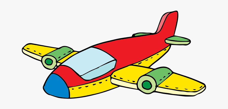 Free To Use &amp, Public Domain Airplane Clip Art - Toy Airplane Clip Art, Transparent Clipart