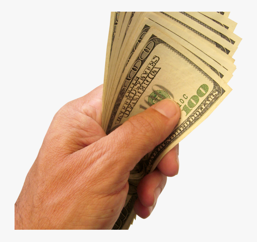 Cash In Hand Png - Money In Hand Png, Transparent Clipart