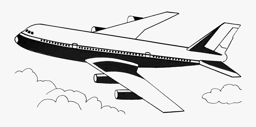 Narrow Body Aircraft,shoe,airplane - Airplane Black And White Clip Art, Transparent Clipart