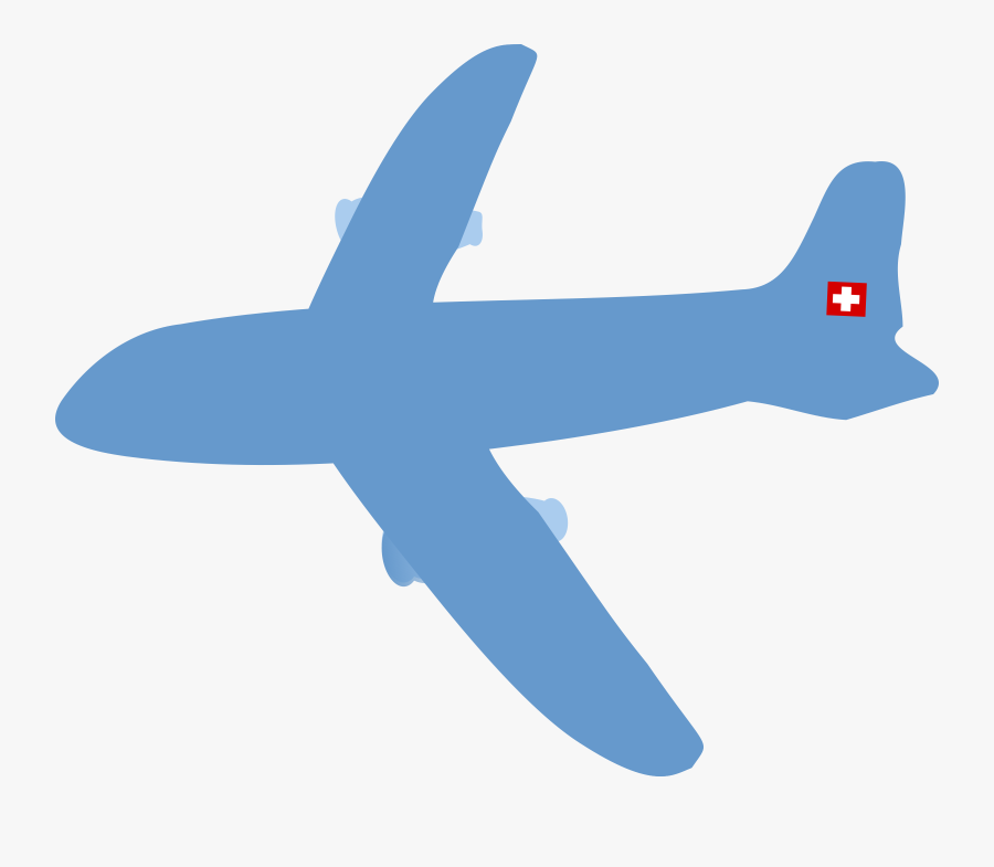 Plane Clipart No Background - Clear Background Airplane Clipart, Transparent Clipart