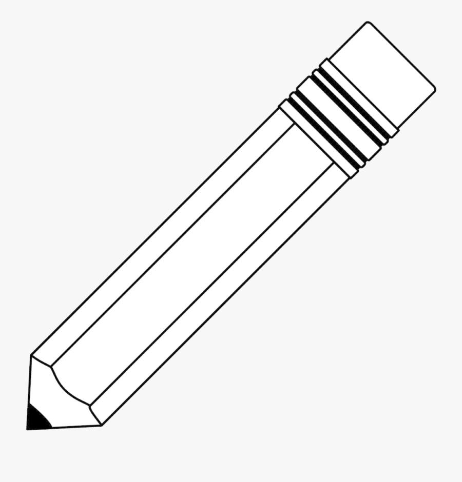 Pencil Clipart Transparent Png - Pencil Jpg Black And White, Transparent Clipart