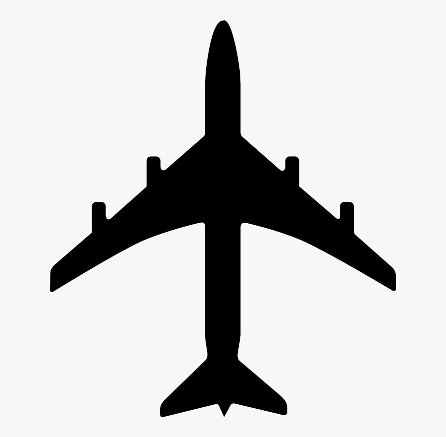 Airplane Clipart Black And White Free Images - Virgin Galactic Evolution Of Flight, Transparent Clipart