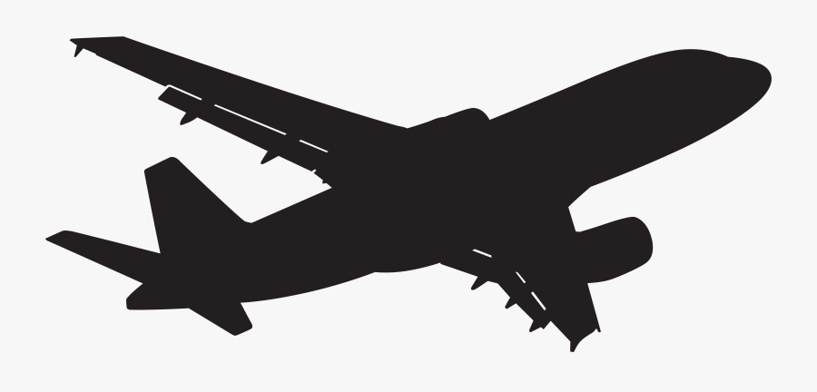 Clipart Of Plane, Airplane Top And Airline Wing - Airline Clipart, Transparent Clipart