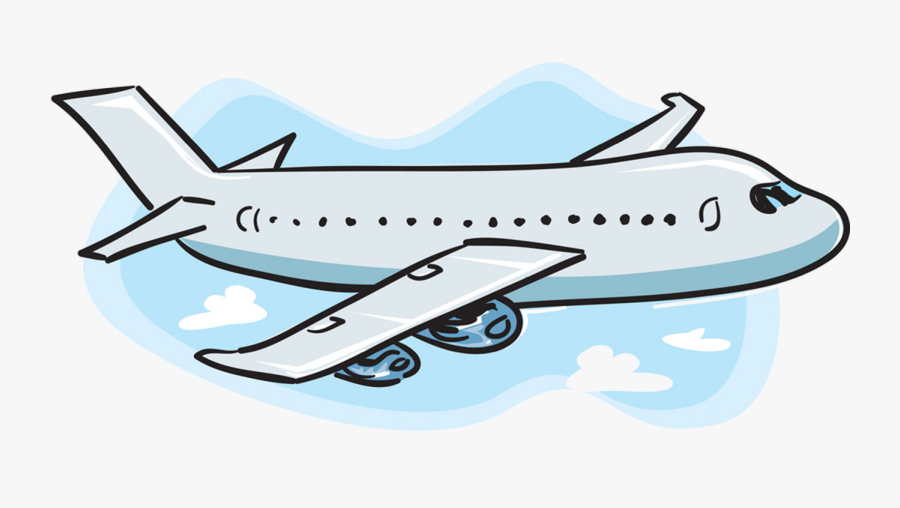 Airplane Clipart No Background Free Images Transparent - Cartoon Airplane, Transparent Clipart