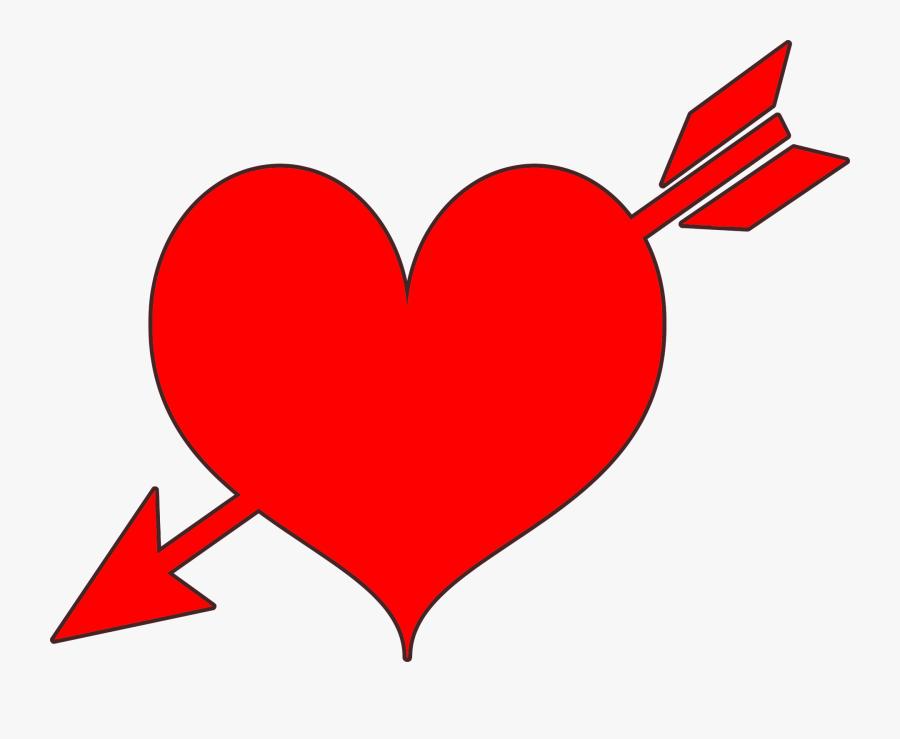 Heart And Arrow Clip Art