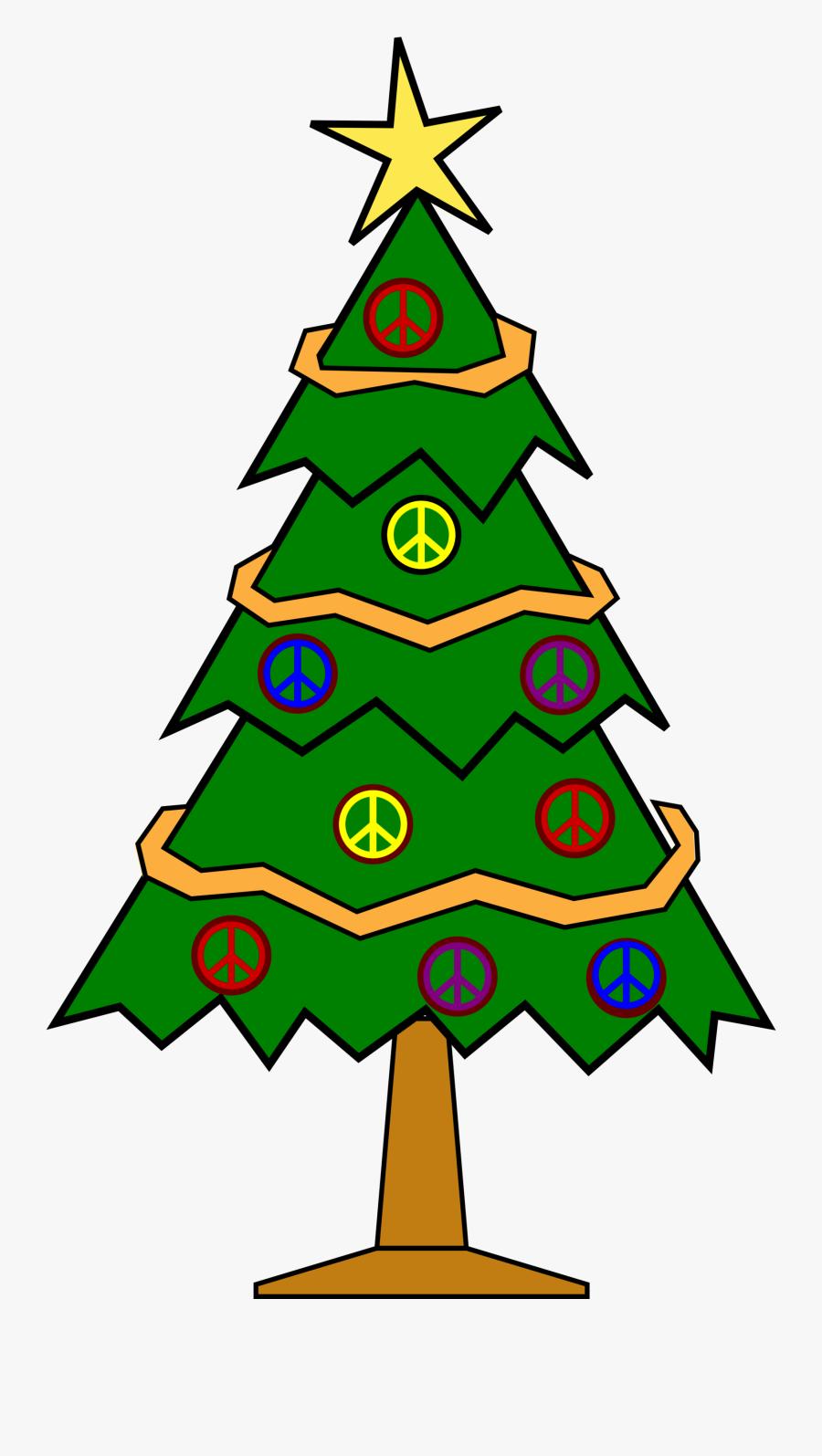 Christmas Tree Clipart Christmas Symbol - Christmas Tree Clipart Small, Transparent Clipart