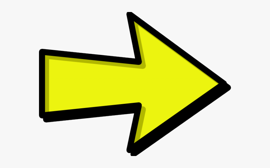 Arrow Clipart Cute Cartoon Pencil And In Color Clip - Clipart Arrow, Transparent Clipart