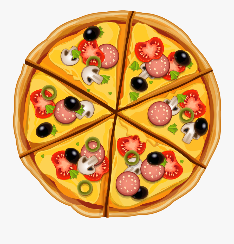 Pizza Png Clipart - Animated Images Of Pizza, Transparent Clipart