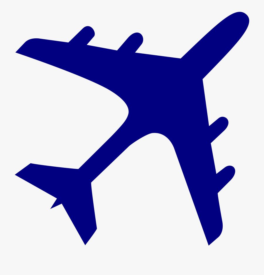 Transparent Cornhole Clipart - Airplane Logo Blue, Transparent Clipart