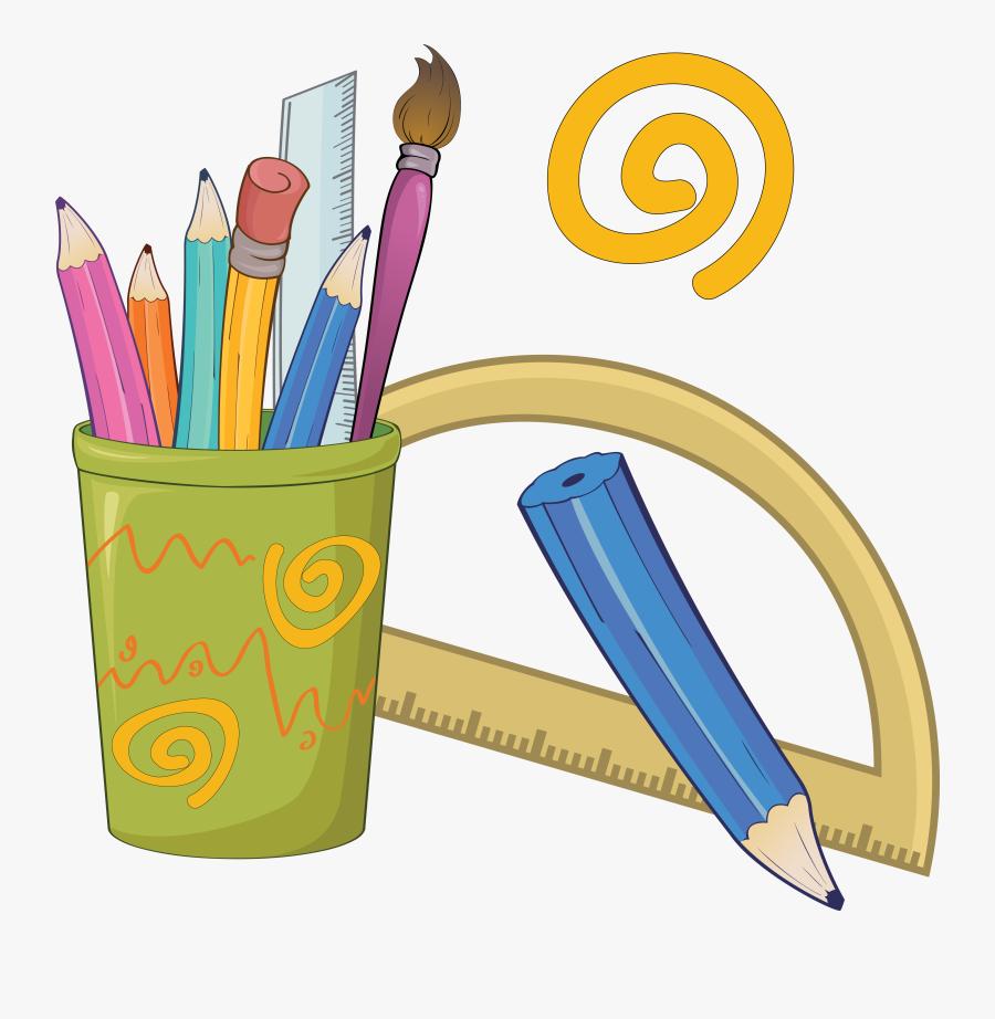 Colored Drawing Clip Art - Pencil Drawings Clip Art, Transparent Clipart