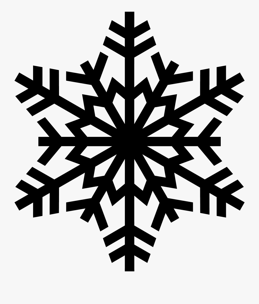 Snowflake Clipart Easy - Vector Snowflake Png, Transparent Clipart