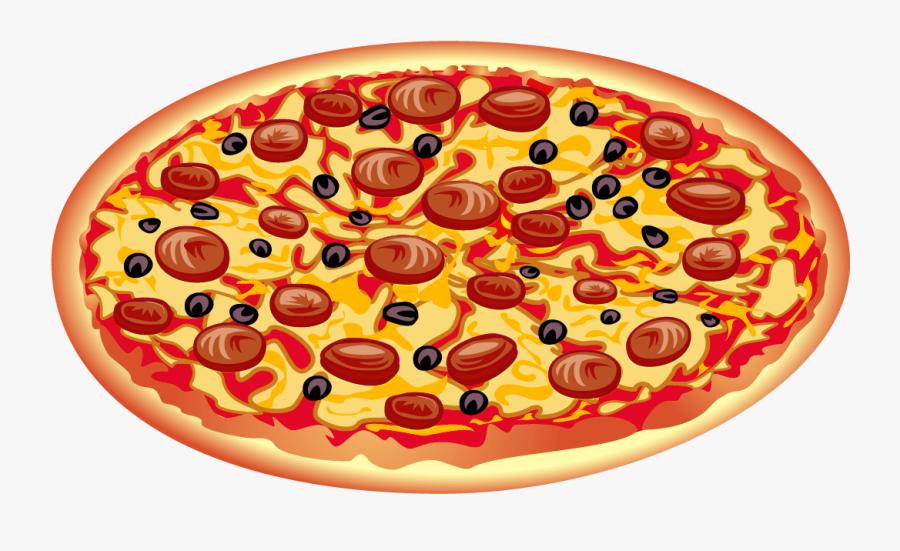 Pepperoni Pizza Clipart - Pizza Clipart, Transparent Clipart