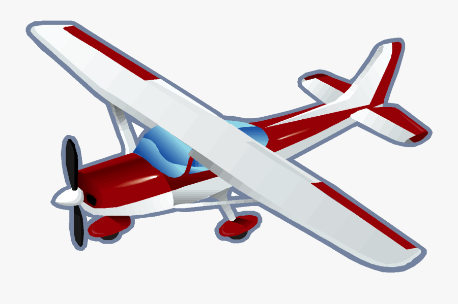 Clip Art Free Cliparts Download Clip - Airplane One Person, Transparent Clipart
