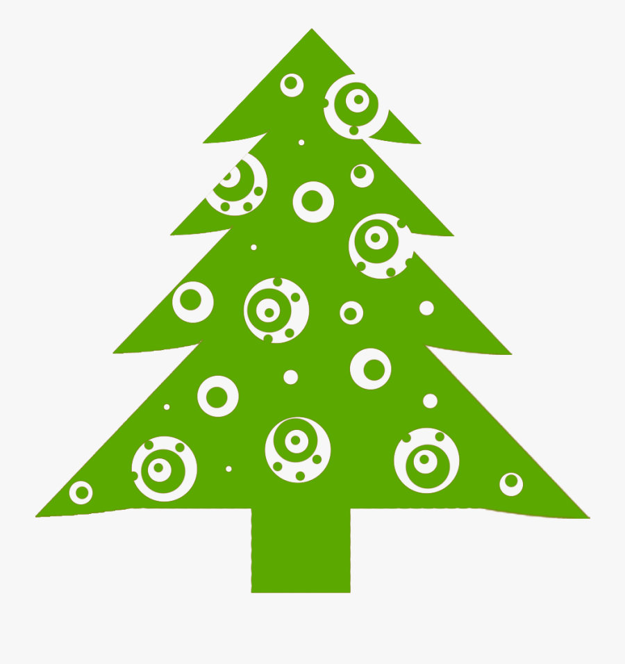 Christmas Tree Clipart For Free - Christmas Day, Transparent Clipart