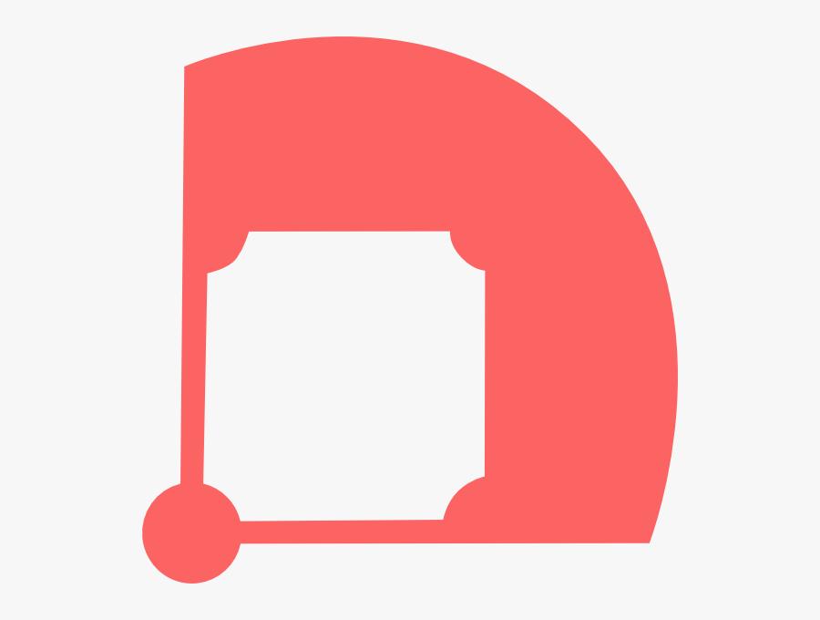 Baseball Clipart Clker - Baseball Field Vector, Transparent Clipart