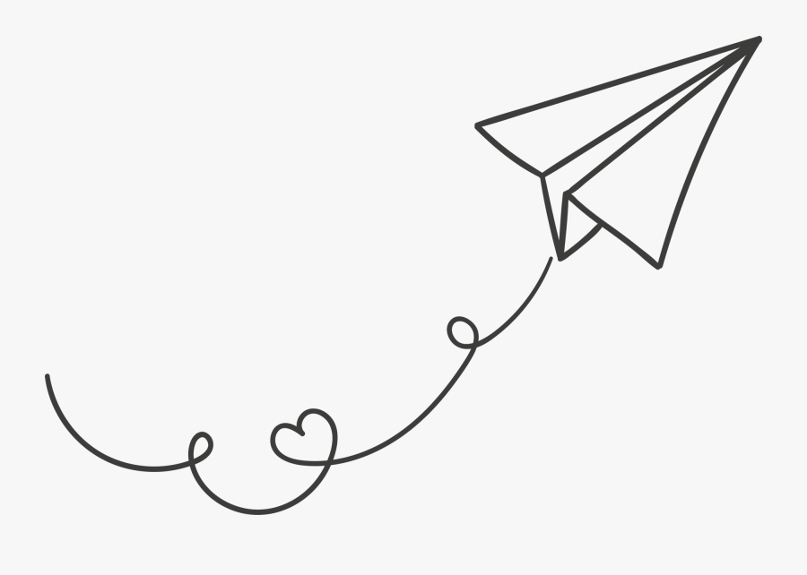 Paper Airplane Clipart Paper Airplane Transparent Background