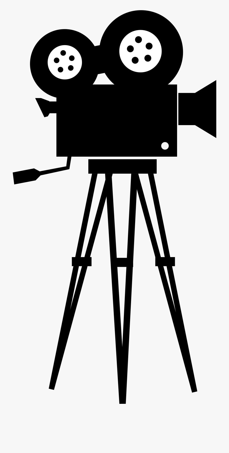 Clipart - Film Camera Vector Png, Transparent Clipart