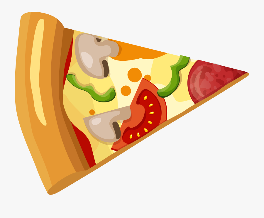 Pizza Slice Png Clip Art - Pizza Slice Clipart Png, Transparent Clipart