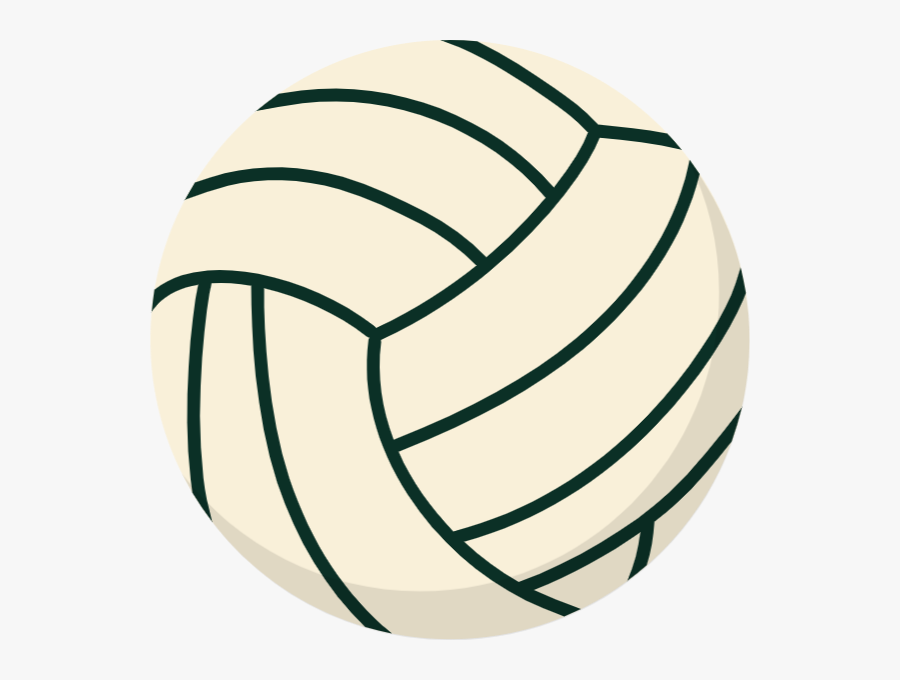 Volleyball Clipart Etsy - Clip Art Volleyball, Transparent Clipart