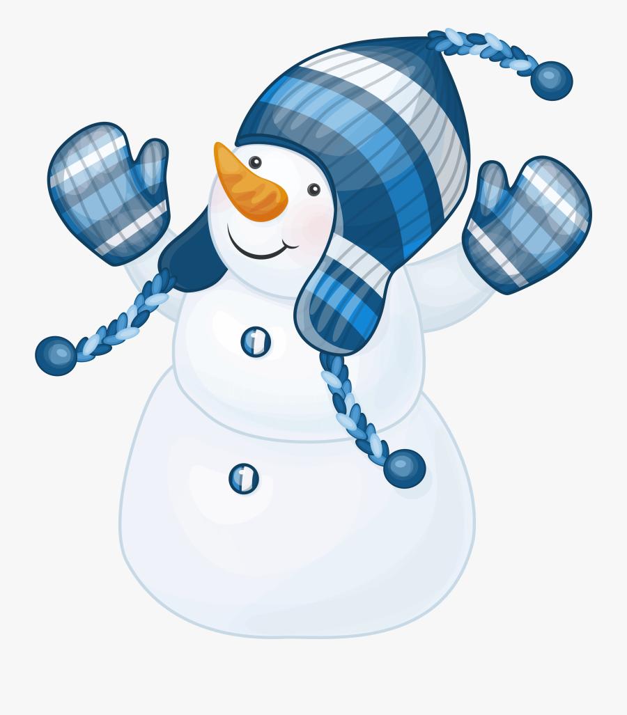 Catching Snowflakes Cliparts - Snowmen Clipart, Transparent Clipart