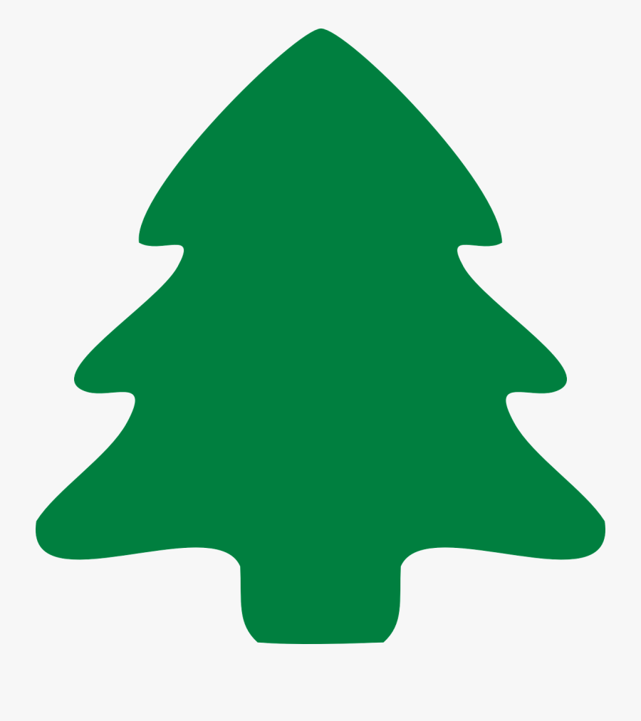 Transparent Christmas Tree Clipart - Pine Tree Symbol Green, Transparent Clipart